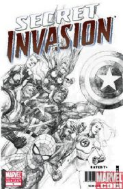 Secret Invasion #1 3rd Third Print Variant SII Marvel comic book